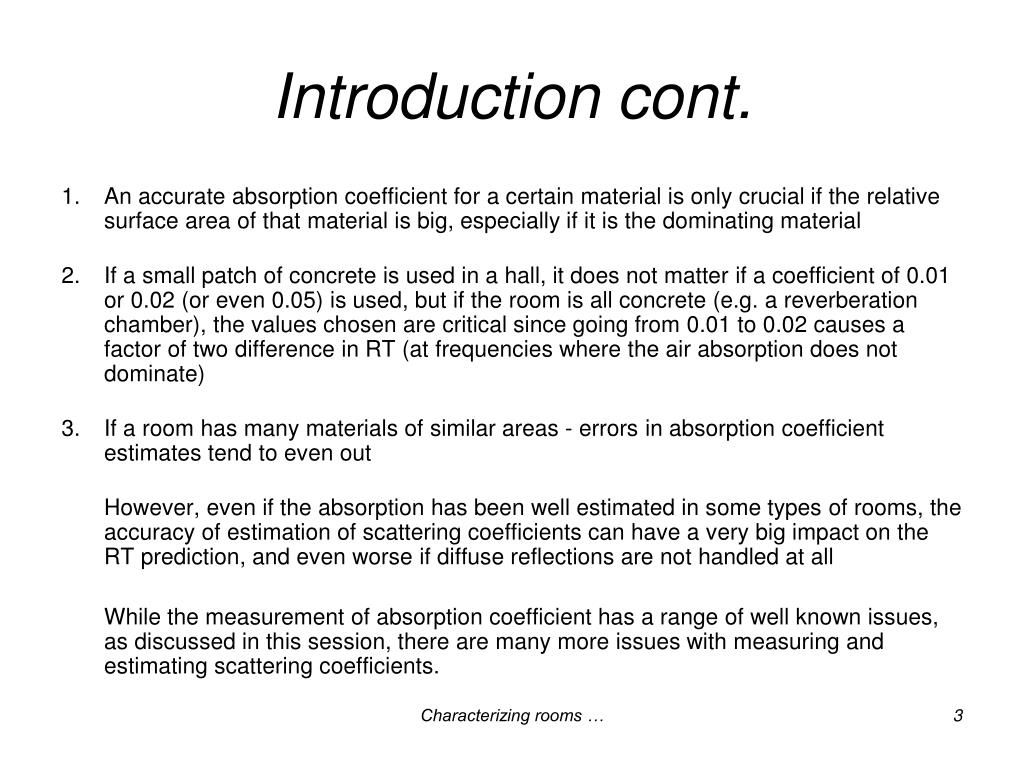 Introduction cont.