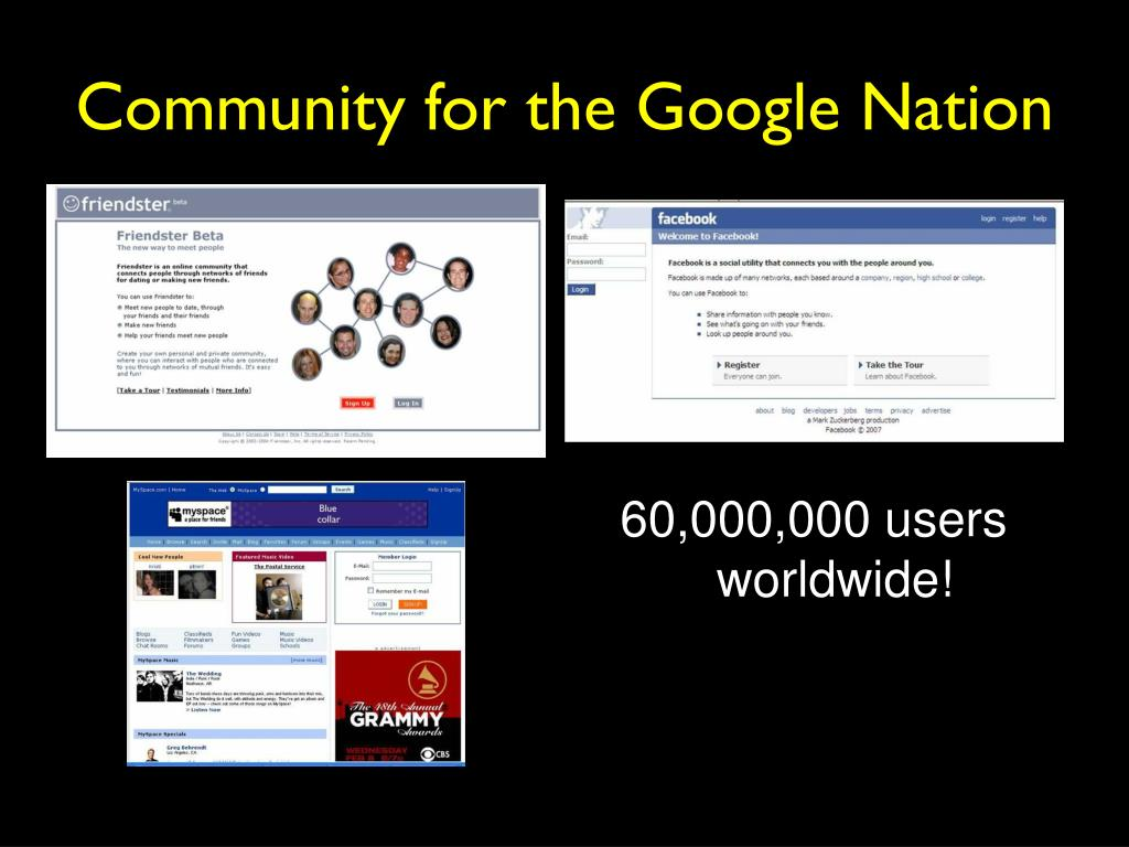 Community for the Google Nation