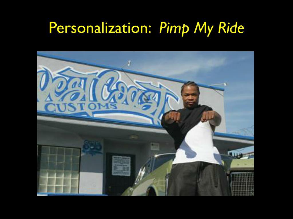 Personalization: