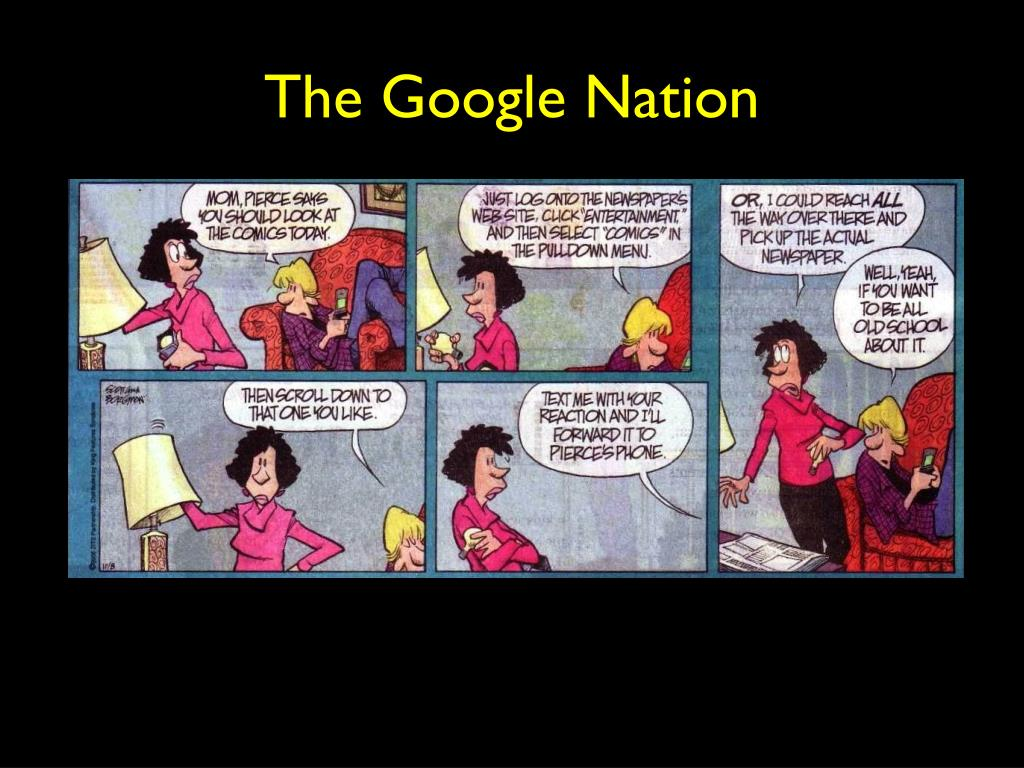 The Google Nation