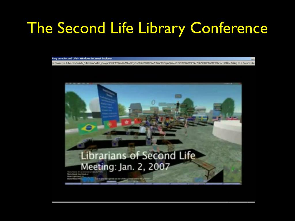 The Second Life Library Conference