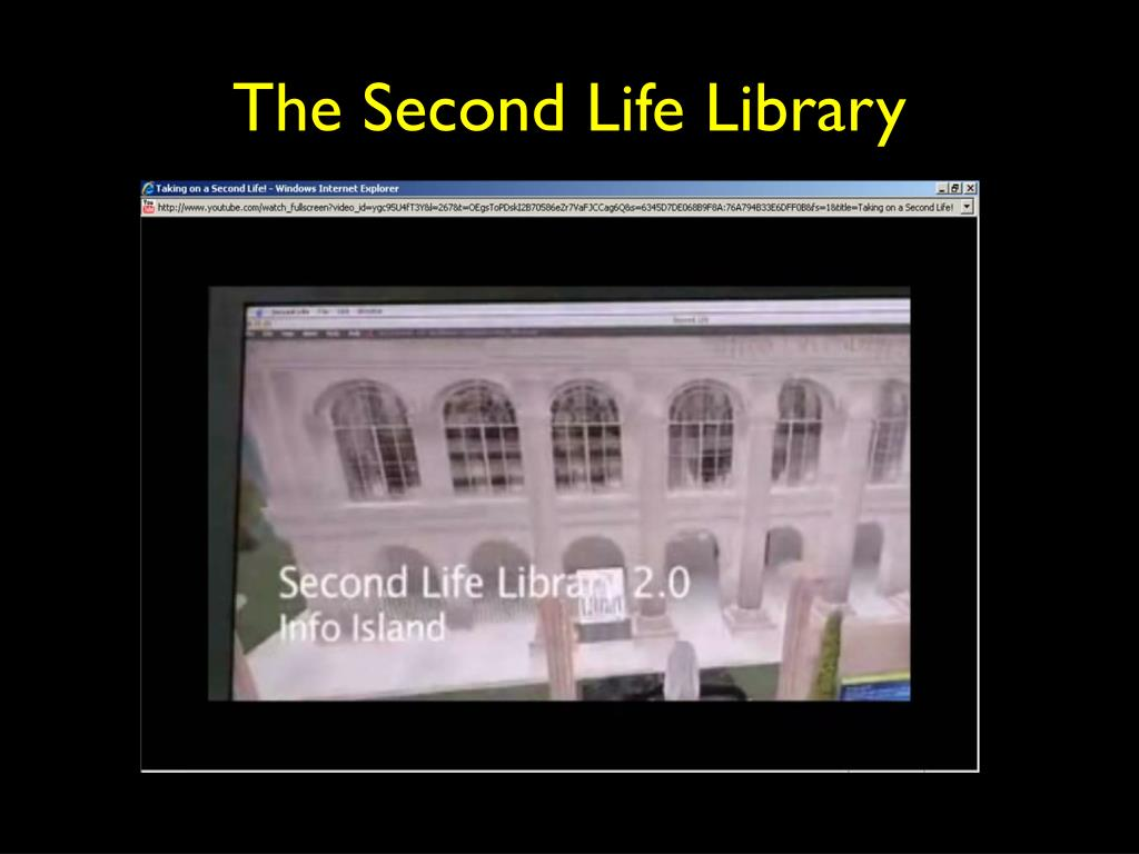 The Second Life Library