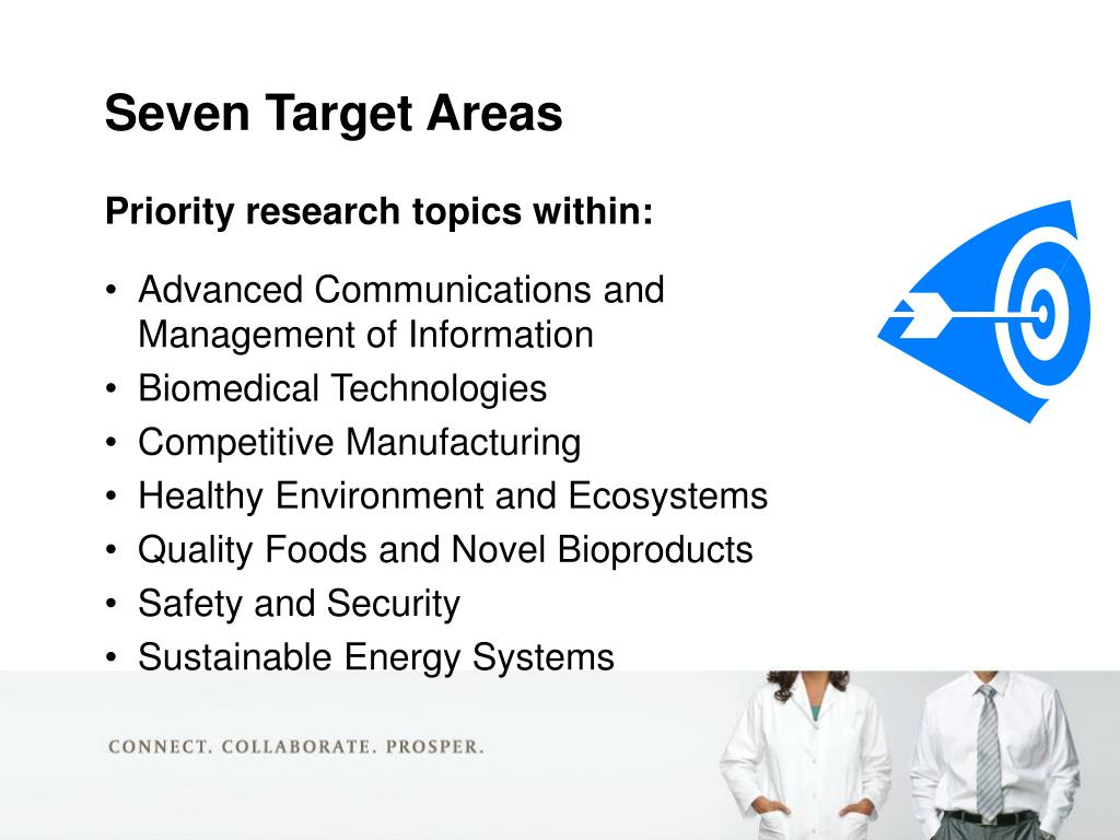 Priority research topics within: