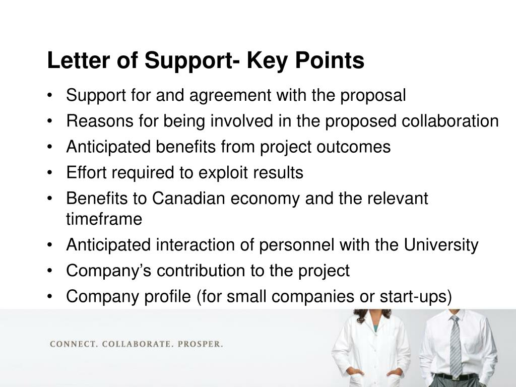 Support for and agreement with the proposal