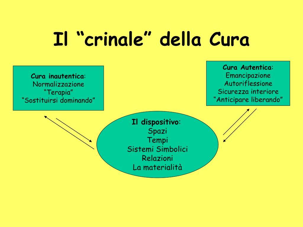"""Il """"crinale"""" della Cura"""