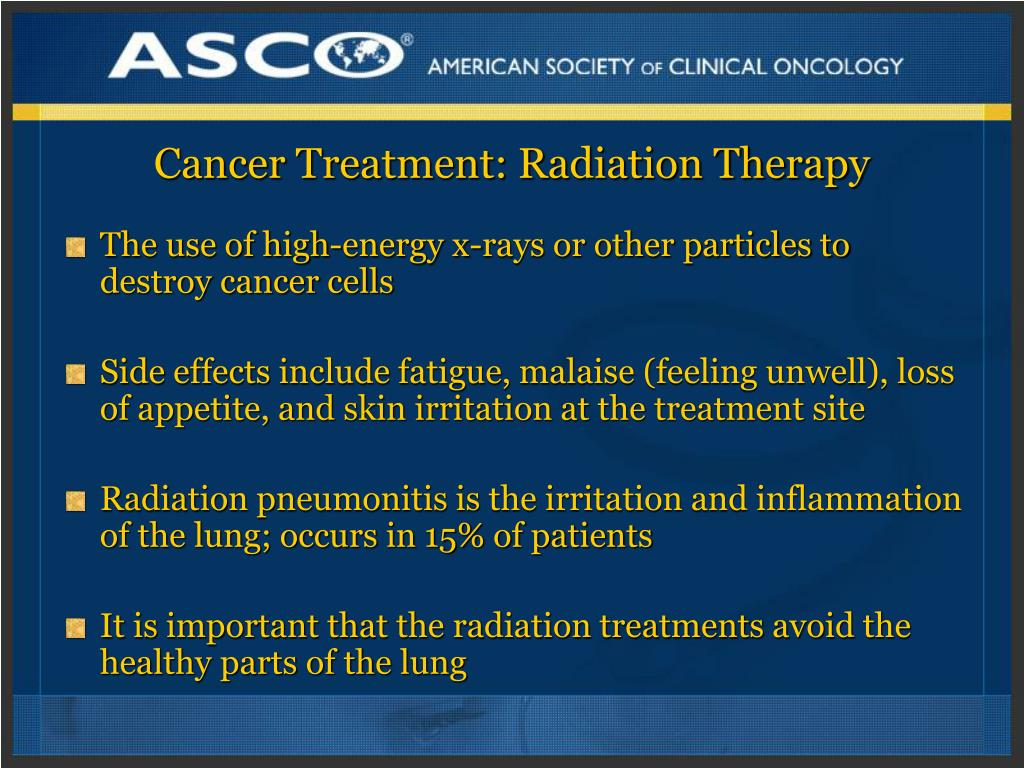 Radiation Therapy Basics