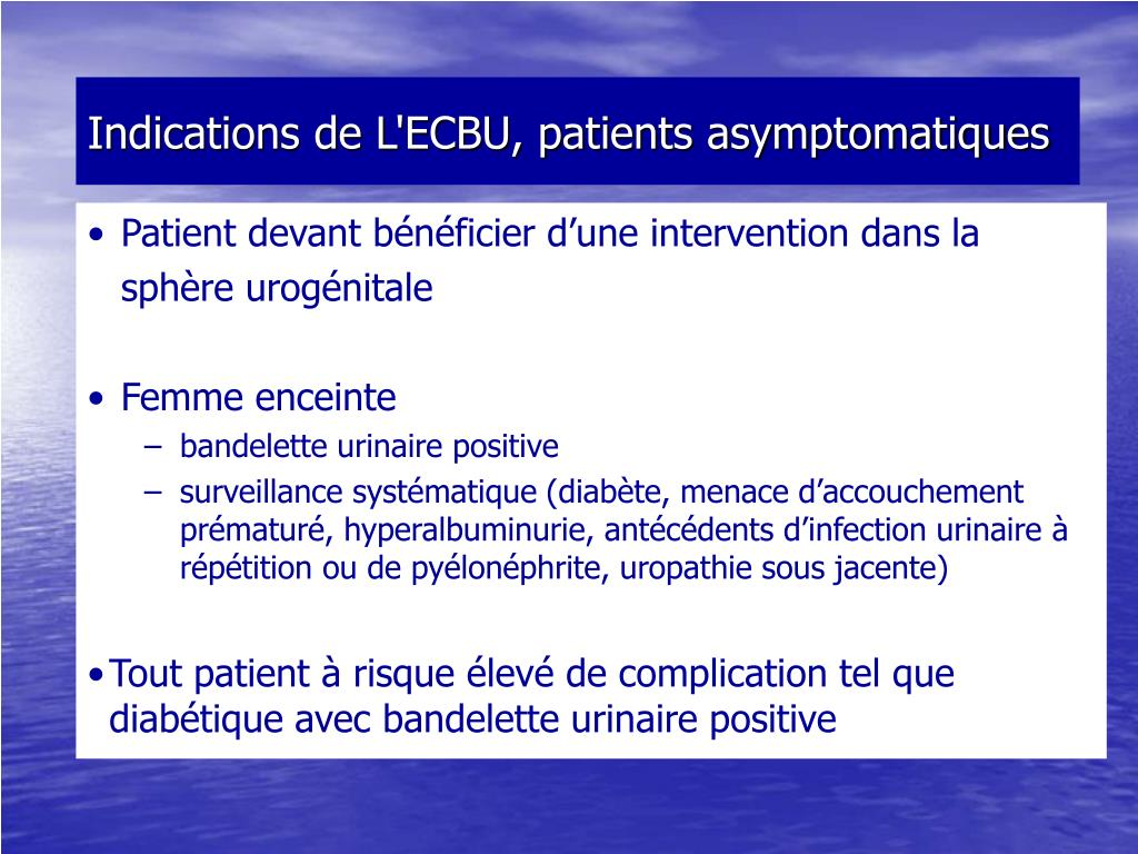 PPT - Examen CytoBactériologique des Urines PowerPoint
