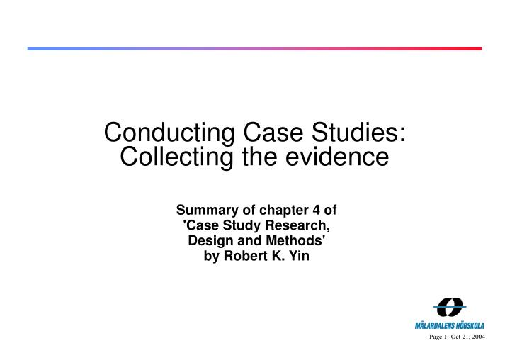 Dissertation case study research