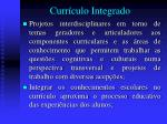 curr culo integrado