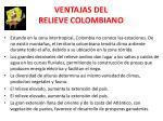 ventajas del relieve colombiano