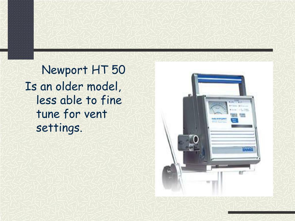 Newport HT 50