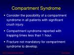 compartment syndrome24