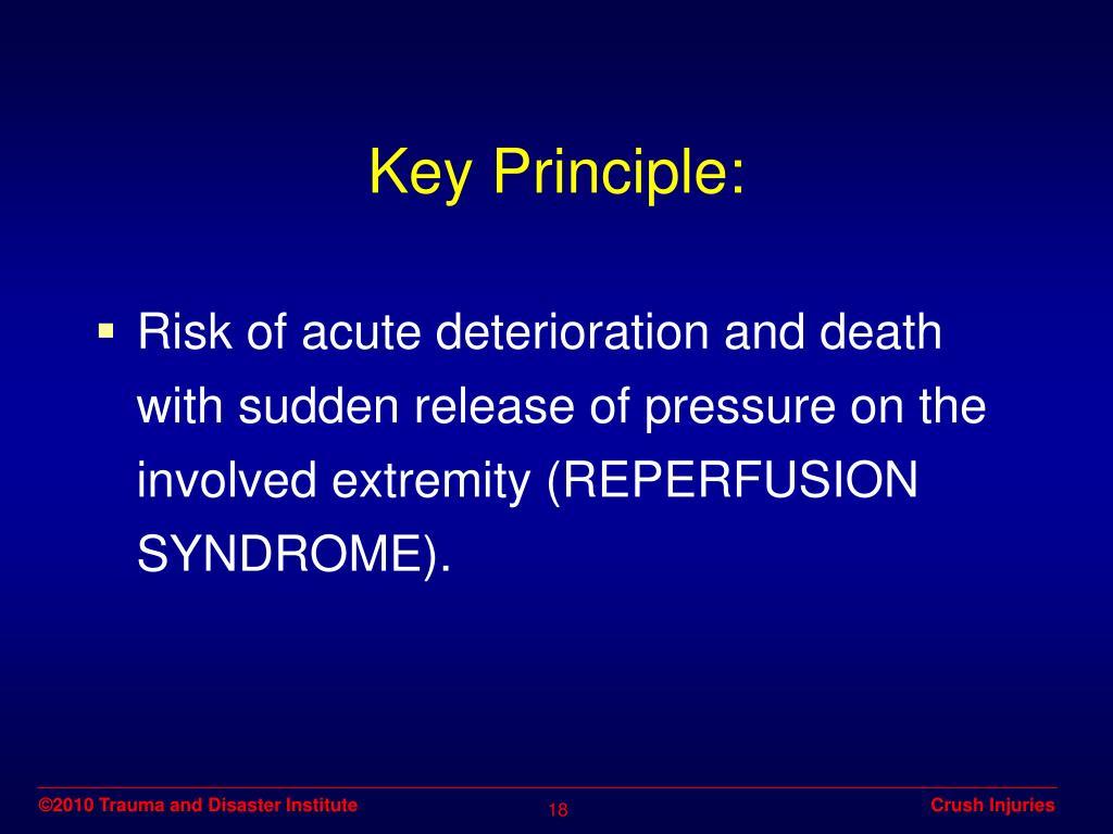 Key Principle: