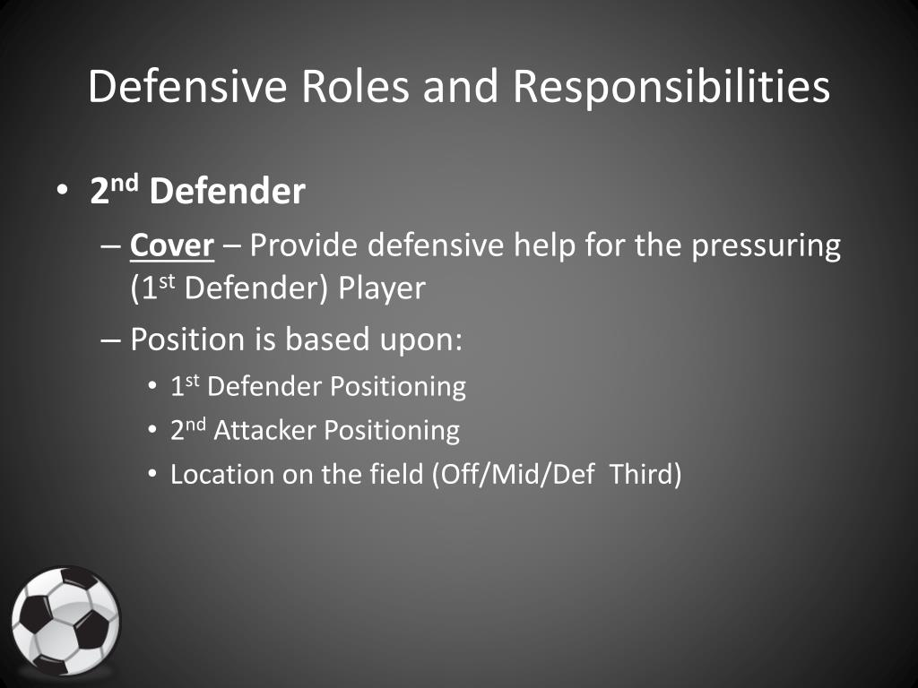 Defensive Roles and Responsibilities