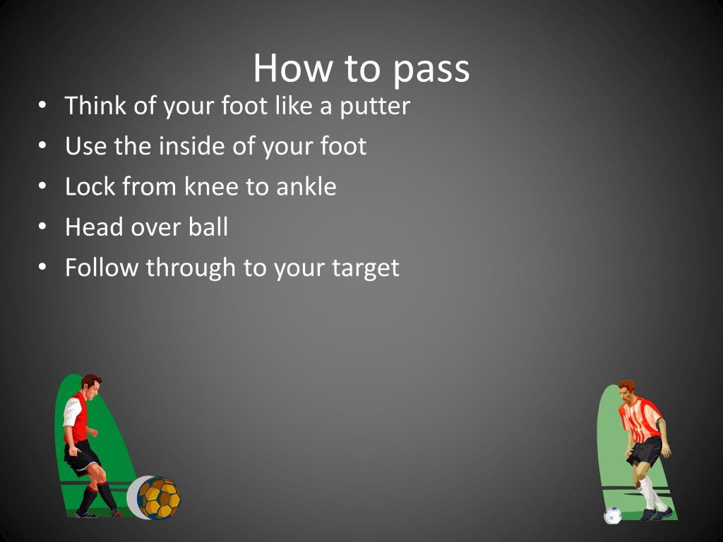 How to pass
