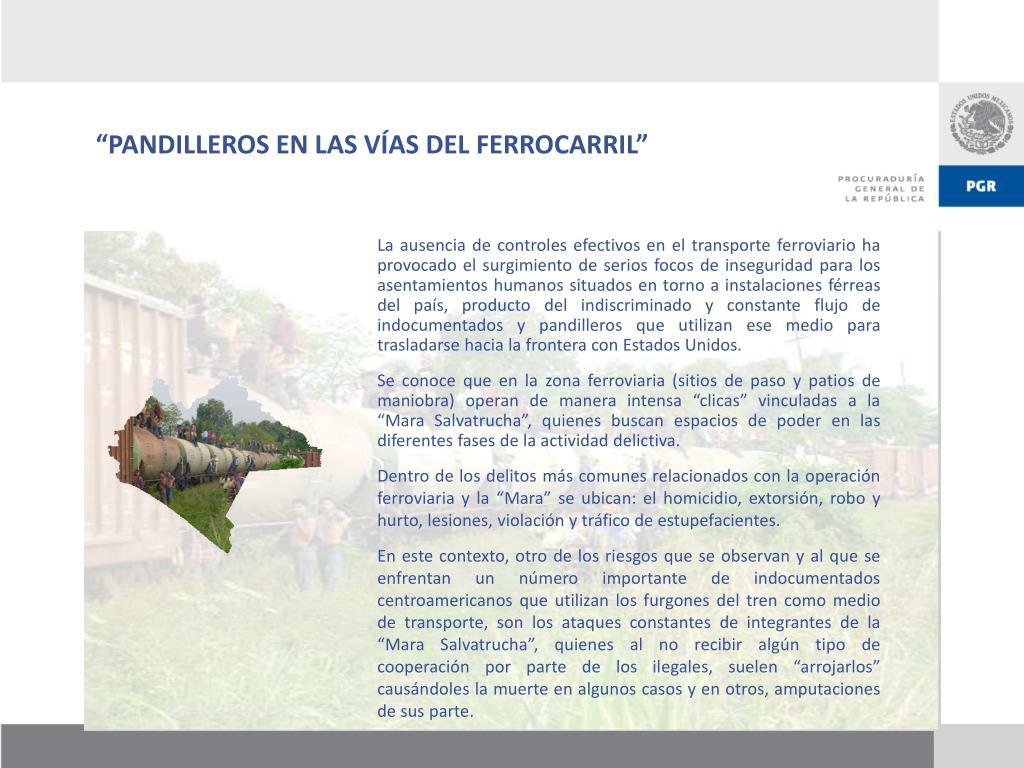 """""""PANDILLEROS EN LAS VÍAS DEL FERROCARRIL"""""""