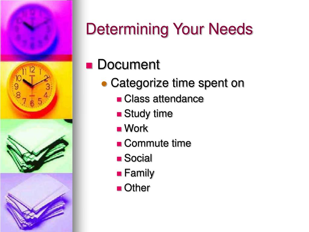 Determining Your Needs