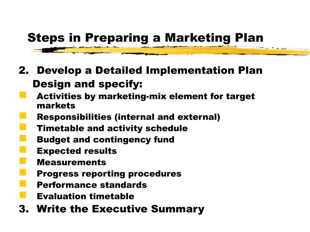 Preparing a business plan ppt