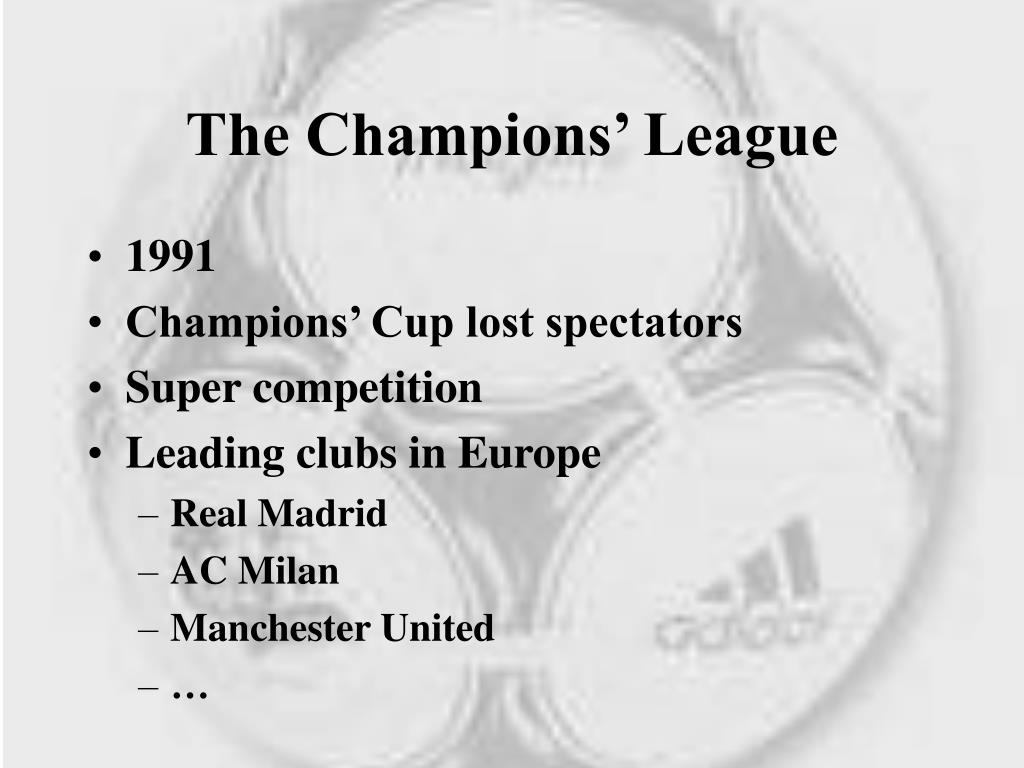 The Champions' League