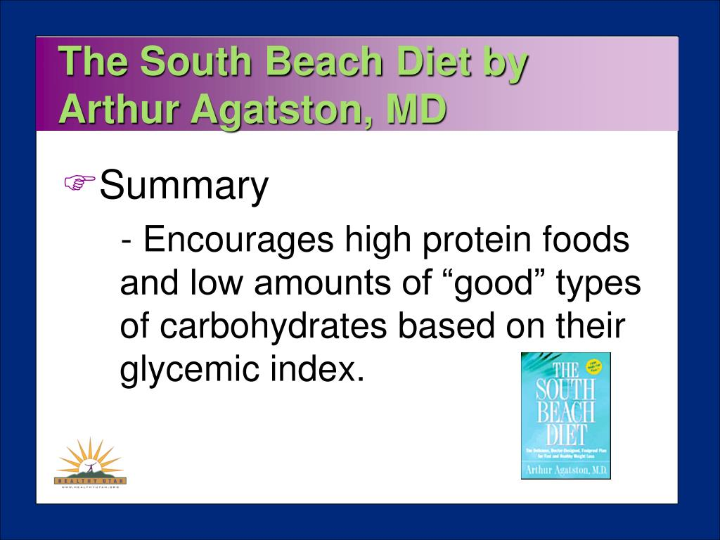 The South Beach Diet by