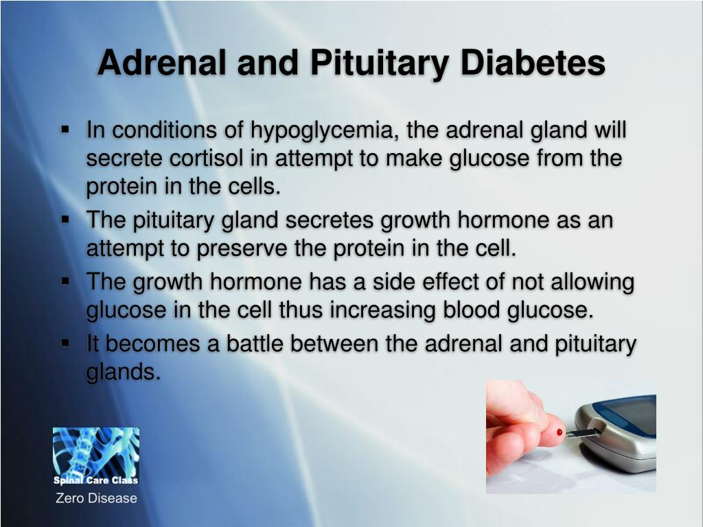 Adrenal and Pituitary Diabetes
