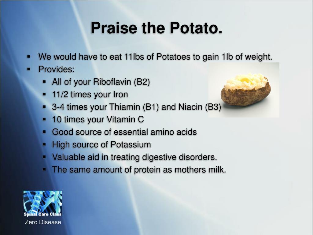 Praise the Potato.