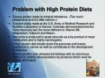 problem with high protein diets13