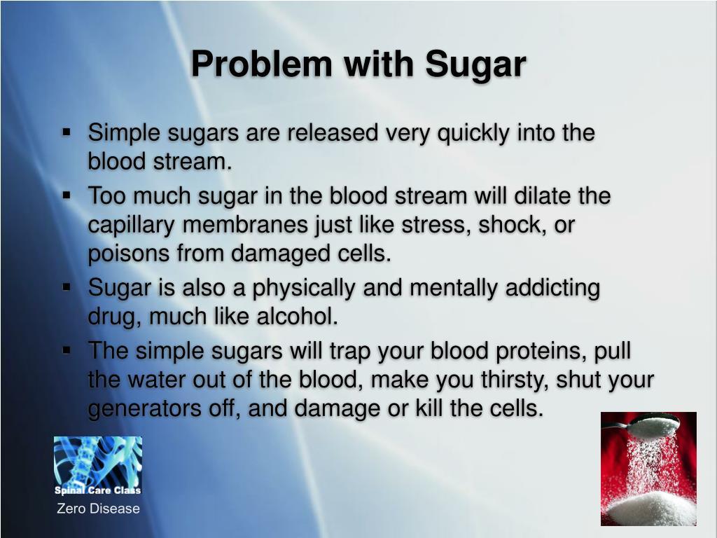 Problem with Sugar