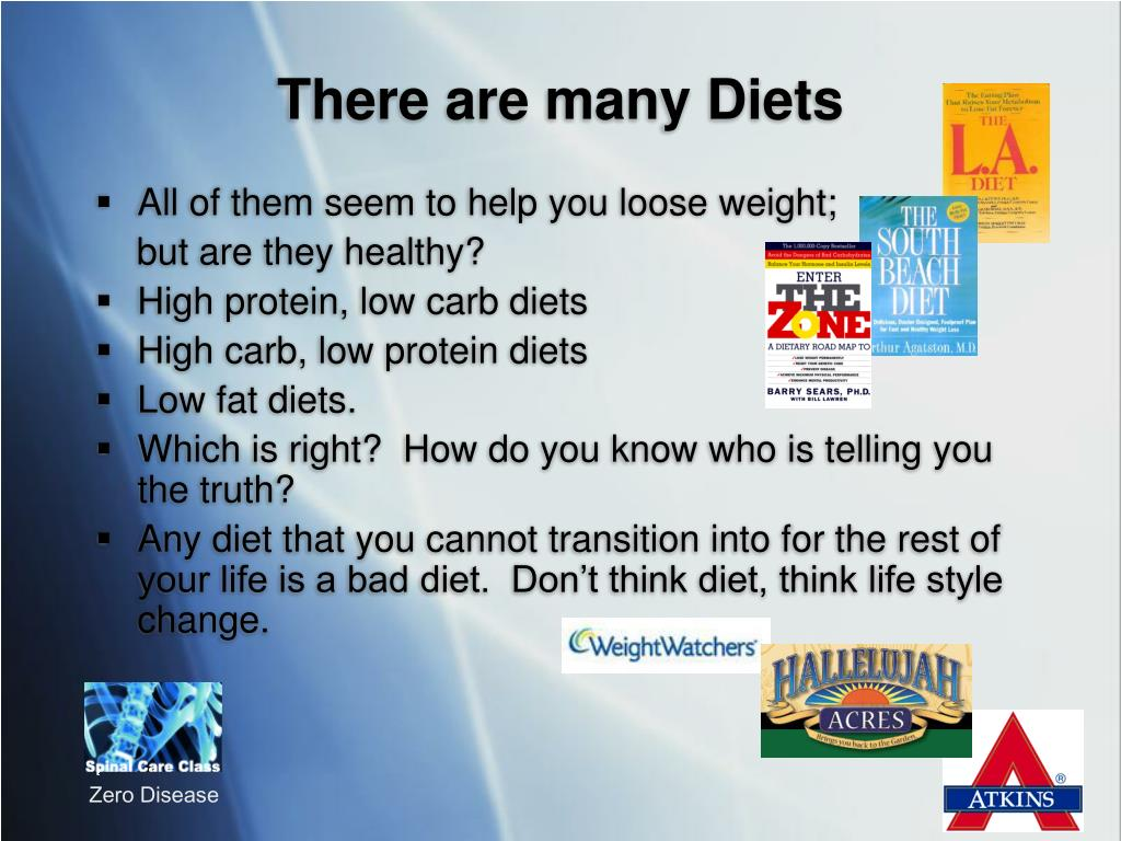 There are many Diets