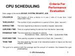 cpu scheduling7