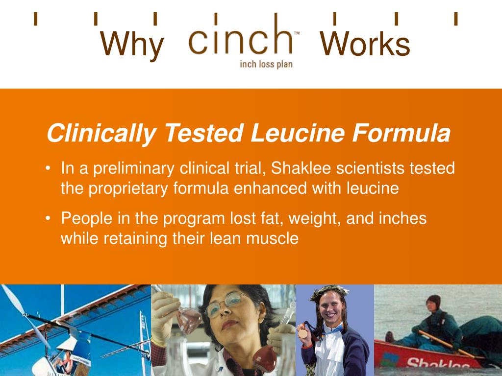 Clinically Tested Leucine Formula