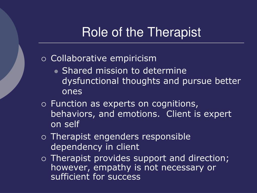 Role of Cognition in Counseling