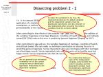 dissecting problem 2 2