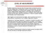level of measurement35
