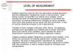 level of measurement56