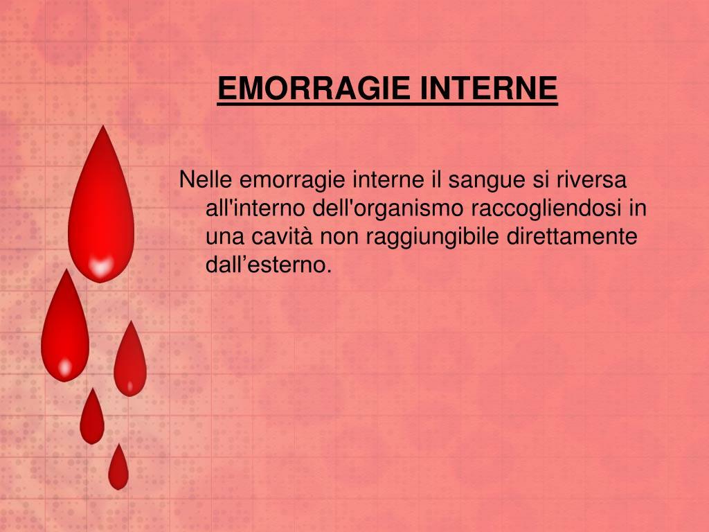 EMORRAGIE INTERNE