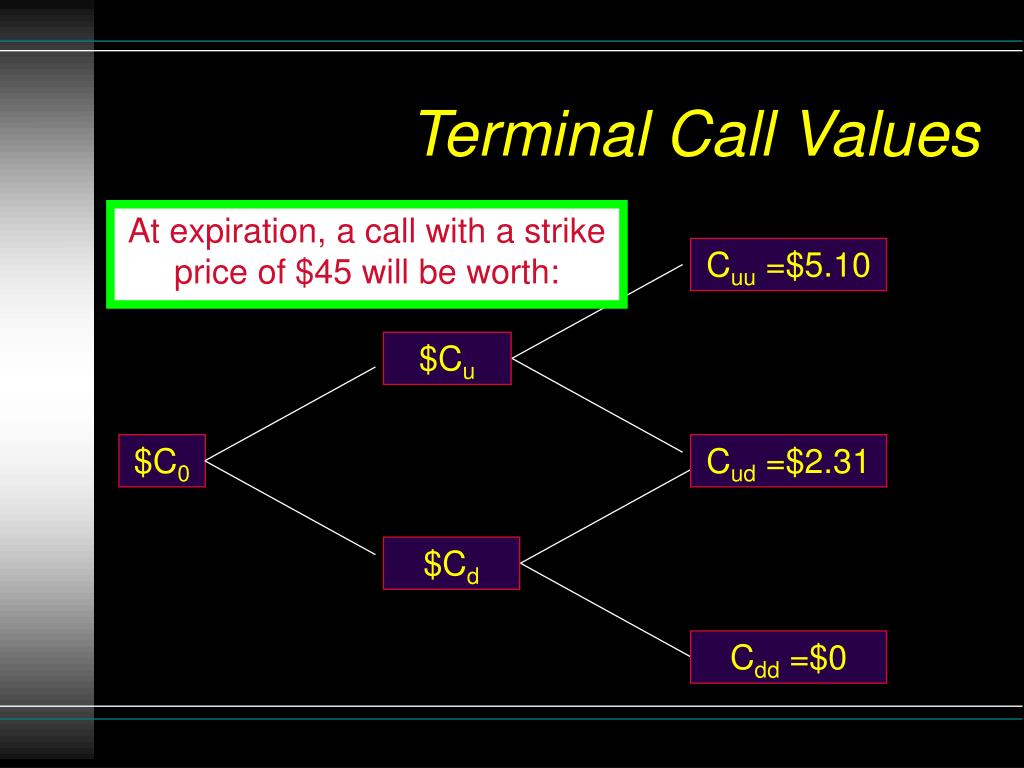 Terminal Call Values