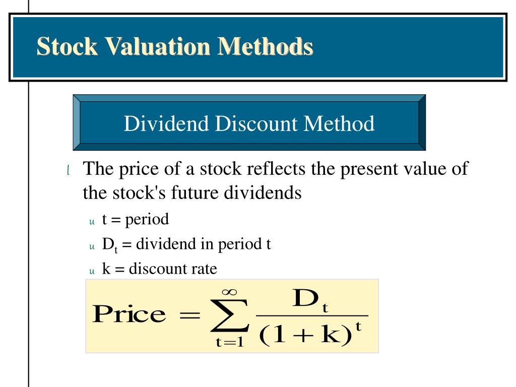 Stock Valuation Methods