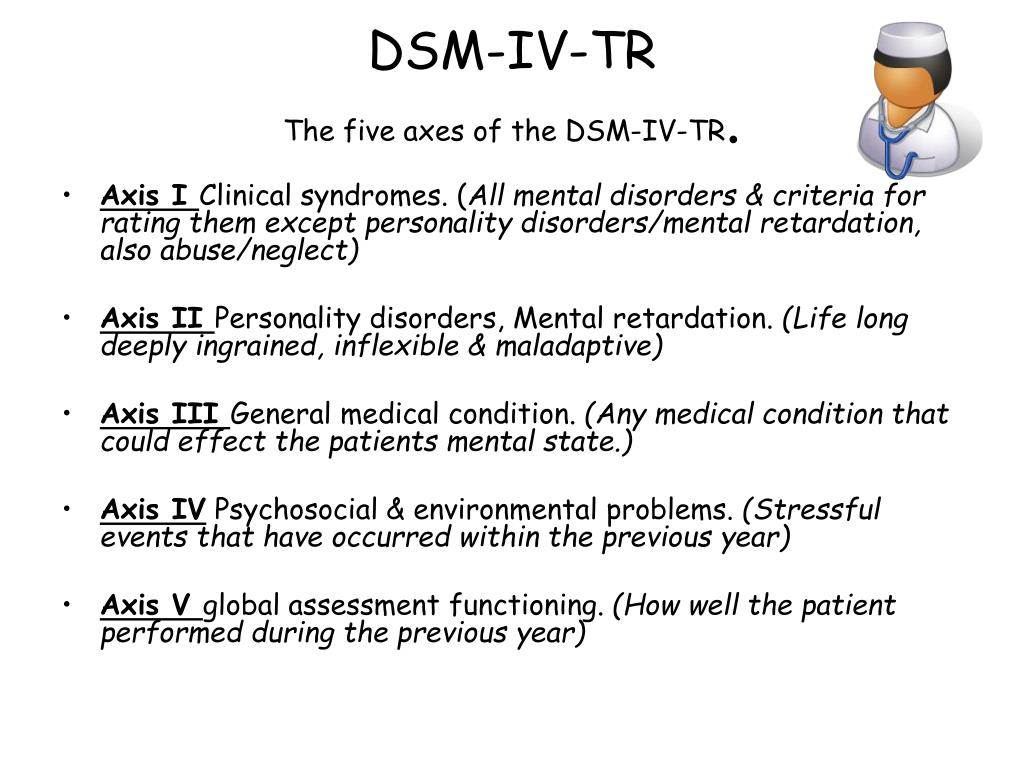 dsm iv tr 、quick refference to the diagnostic criteria from dsm-iv-tr.