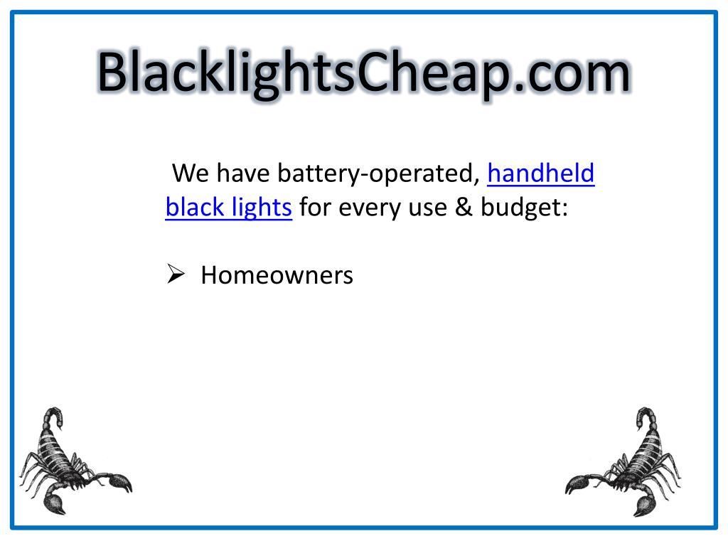 BlacklightsCheap.com