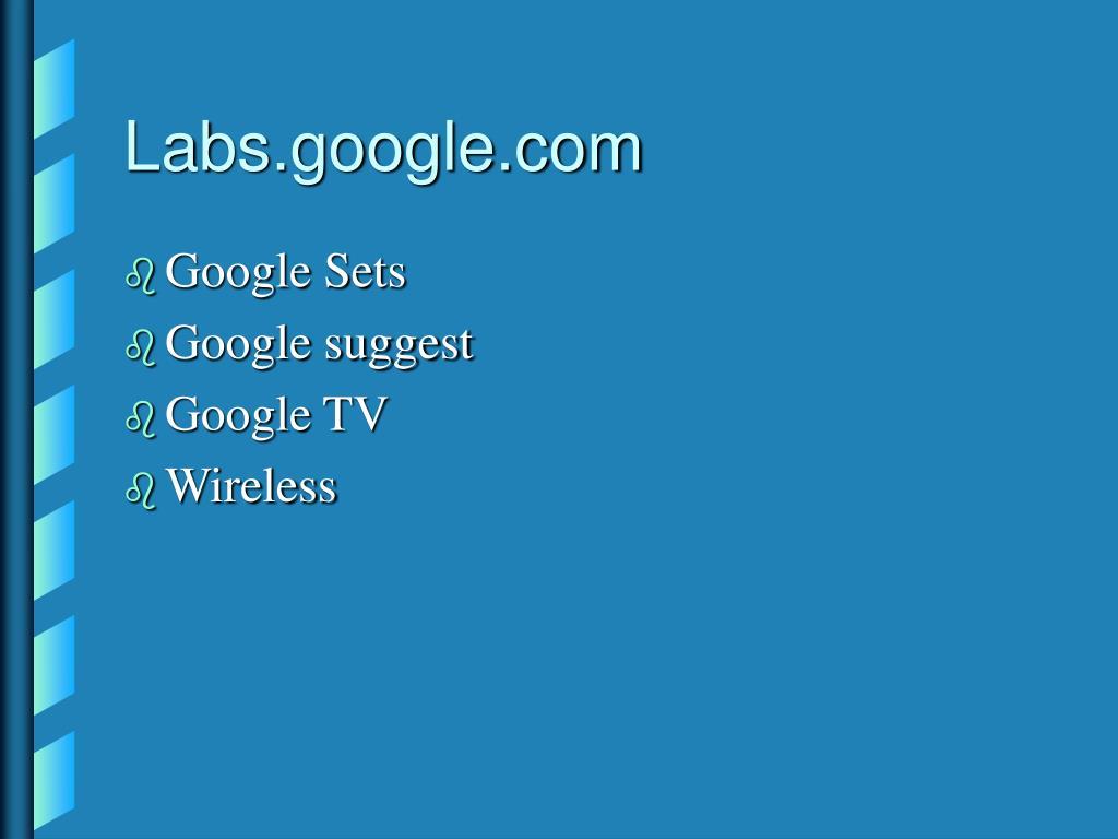 Labs.google.com