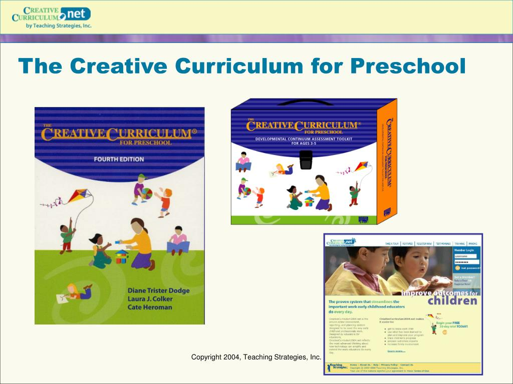 curriculum for preschool ppt creative curriculum powerpoint presentation id 230171 351