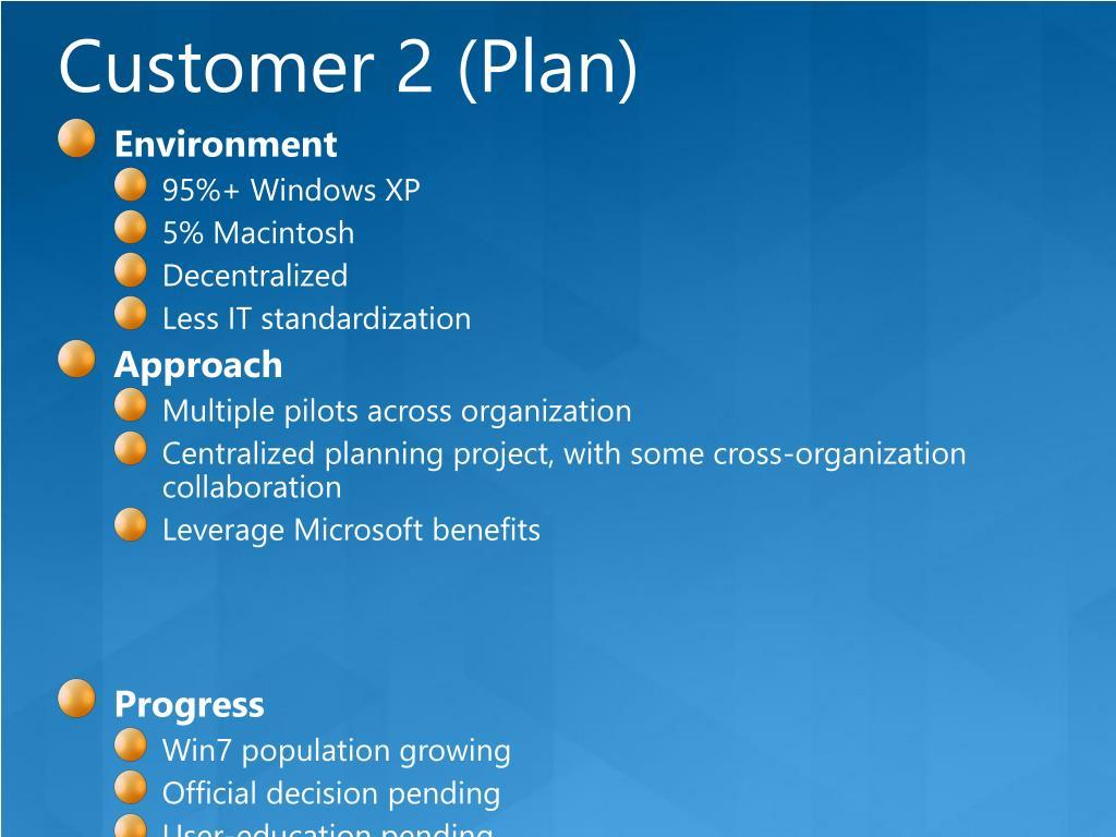 Customer 2 (Plan)