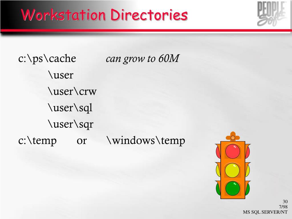 Workstation Directories