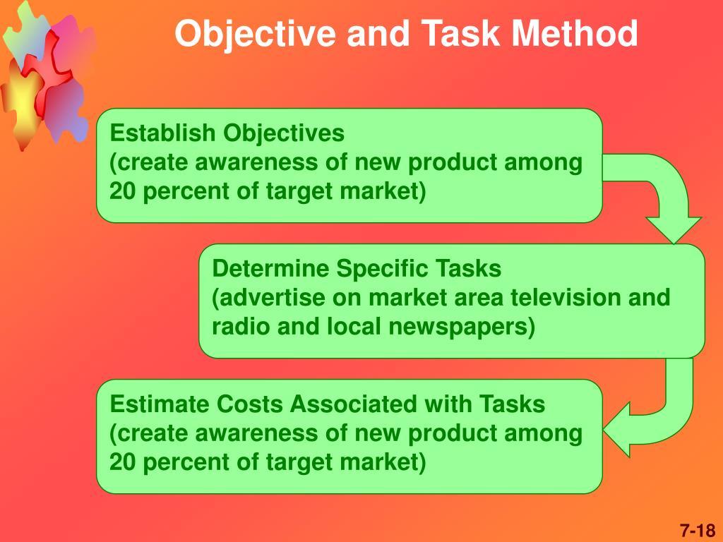Determine Specific Tasks
