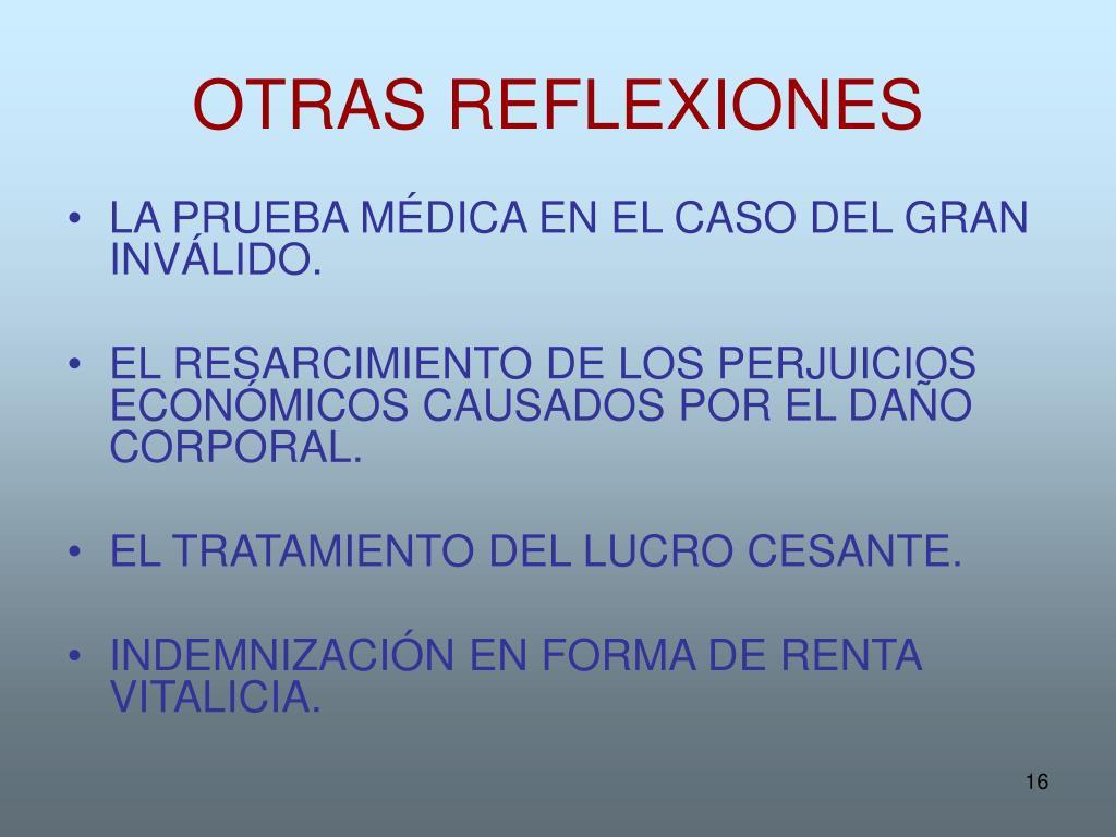 OTRAS REFLEXIONES