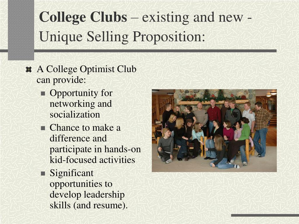 College Clubs