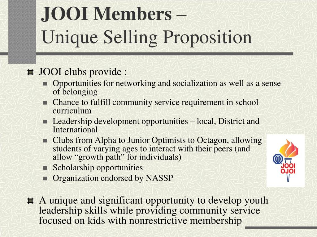 JOOI Members