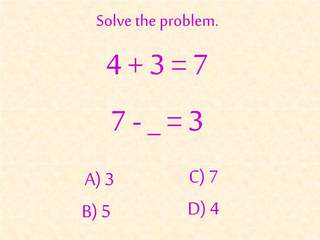 Solve the problem.
