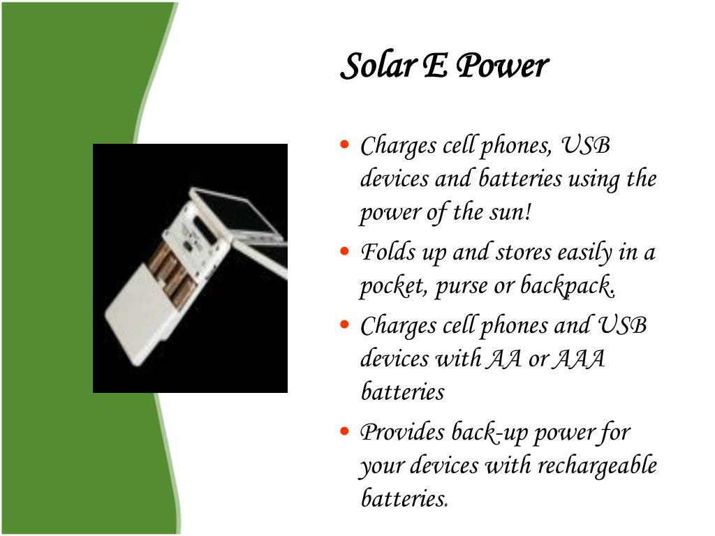 Solar E Power